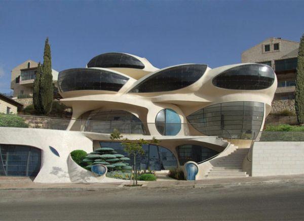 Biomorphic house