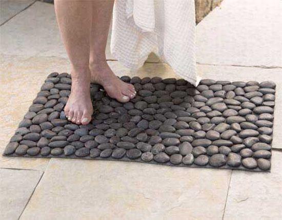 blac river stone mat