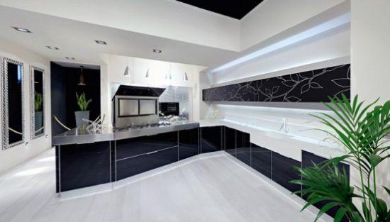 black and white kitchen design1