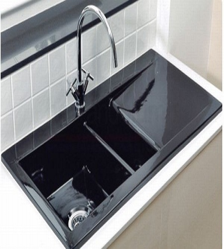 modern undermount kitchen sinks,Black Sink Kitchen,Kitchen ideas