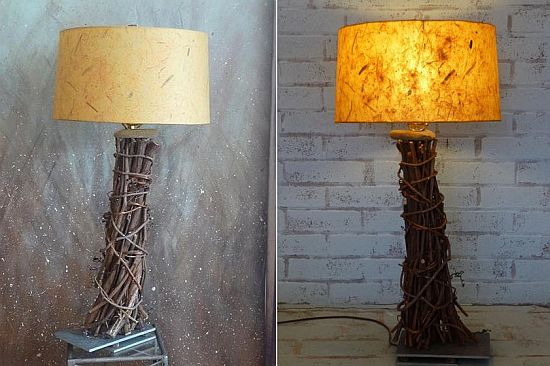 blowin table lamp