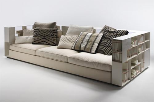 bookcase sofa