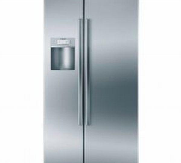Bosch Linea Series B22CS50SNS Side by Side Refrigerator