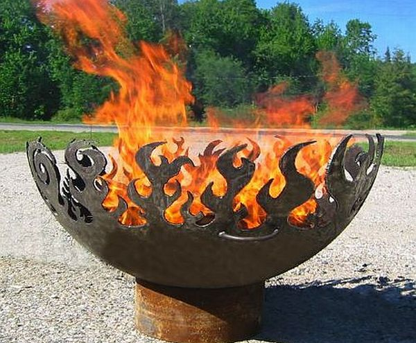 Bowl O' Fire outdoor fire pit