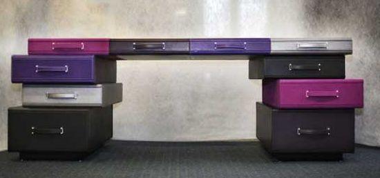 briefcase desk