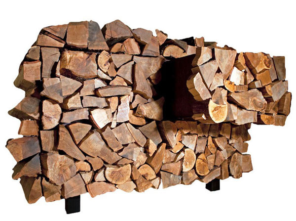 Bring home a pile of wood to store your secret belongings!