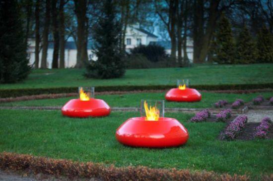 bubble fireplace