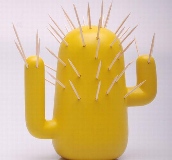 Caatinga Cactus Shaped Toothpick Holder