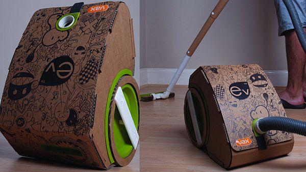 Cardboard Vacuum Cleaner