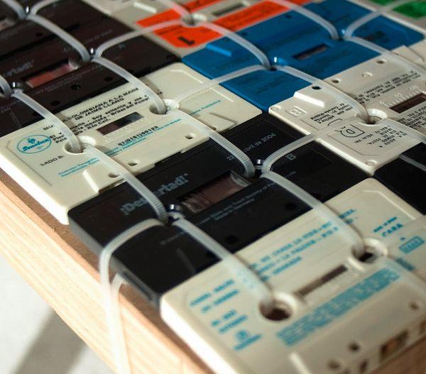 cassette tape chair ooomydesign 2