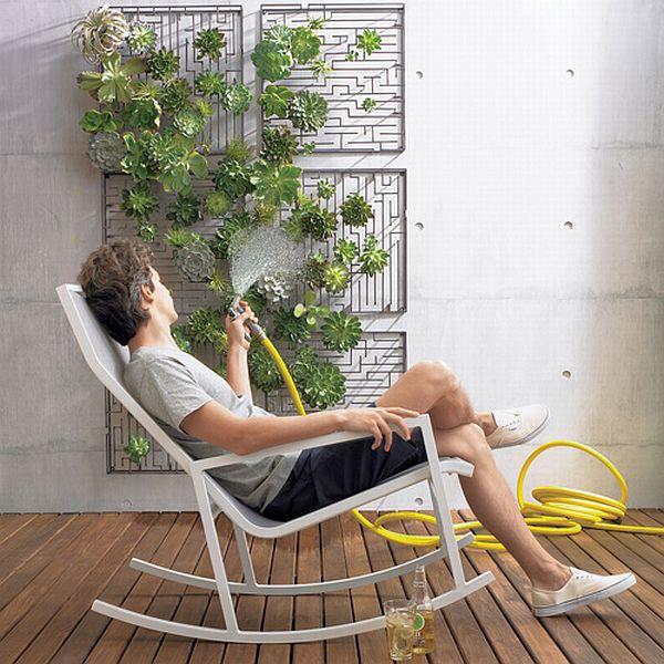 CB2 wall garden