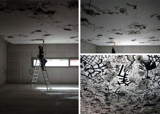 ceiling mural artist