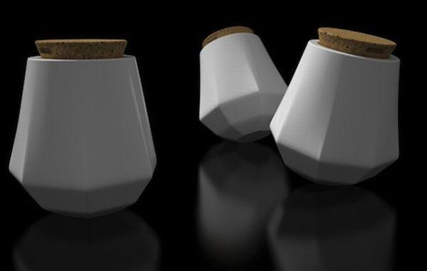 Ceramic Rocker Stool
