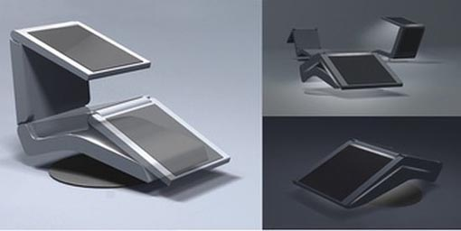 chaise lounge with solar energy by vlada davydova
