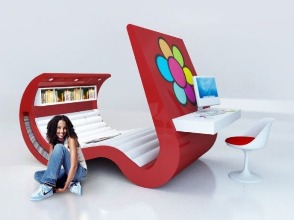 Chaise Lounger Desk