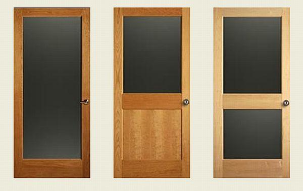 Chalkboard Panel Doors