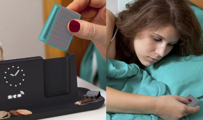 Chirp alarm clock: Wake up without disturbing others