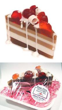 chocolate cherry pie soap
