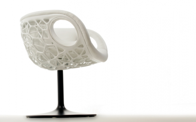 Chrisco: Marvelous 3D Printed chair bringing alive futuristic realism
