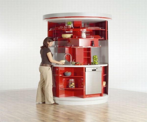 Efficiency Kitchen Units: Mini Kitchen Units For Space Cramped Interiors