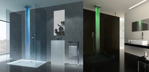 10 innovative showers to enjoy the bath in style for Home automation shower