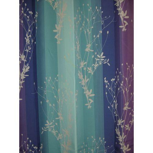 Jonathan Adler Shower Curtain Purple and White Polka Dot Curt