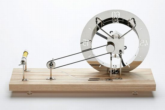 clock for an architect by daniel weil 1