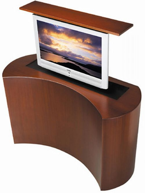 coast motorized tv lift cabinet hometone. Black Bedroom Furniture Sets. Home Design Ideas