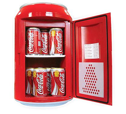 coke fridge 3821