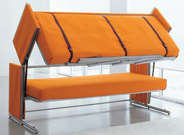 Collapsible bed