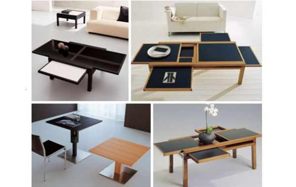 From Coffee Table To Dining That Can