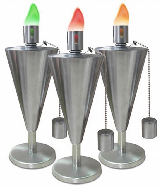 colored flame torches n227t 7881
