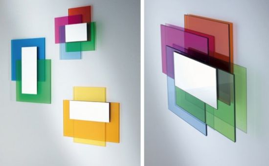colour on colour mirrors by glass italia 1