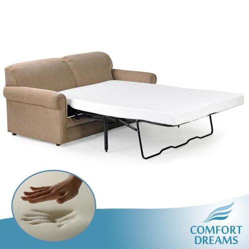 Sofa bed mattress 7 most comfortable hometone for Sofa bed memory foam mattress