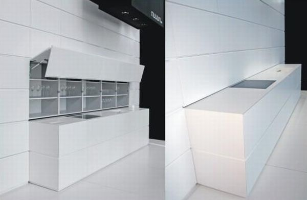 Compact wall kitchen