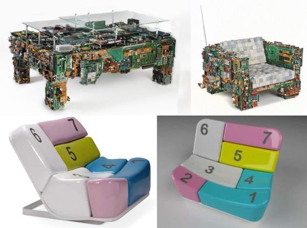Computer inspired products