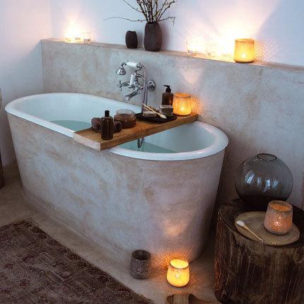 concrete tub