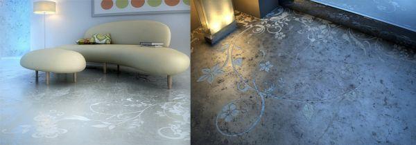 Concrete Art flooring