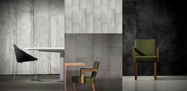 Concrete Wallpaper by Piet Boon