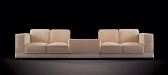 confident square sofa