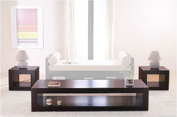 Coffee table sets hometone for Modern living room table sets