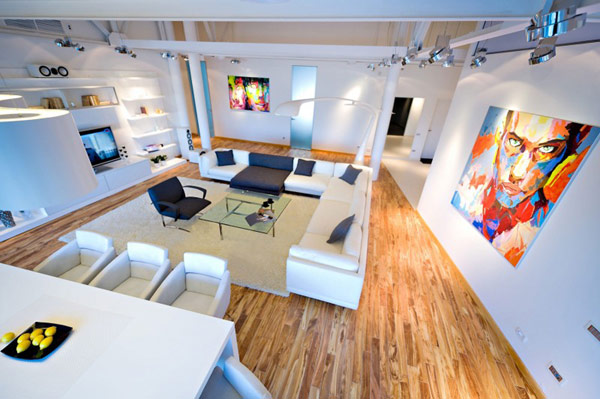 Contemporary loft design