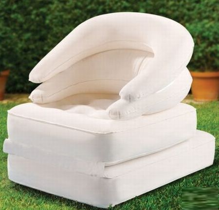 convertible inflatable lounger