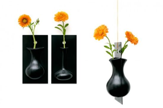 cool wall flower vase flow by ernest perera 1 554x