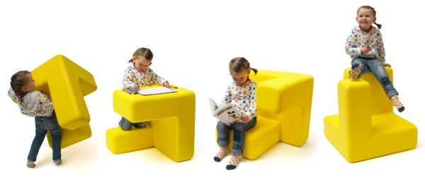 Cool and attractive pieces of furniture for kids' bedroom
