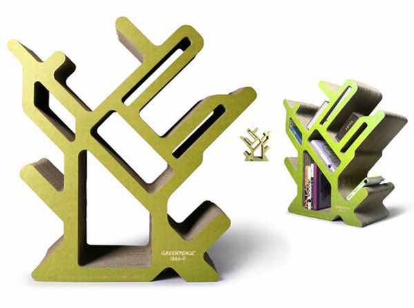 Creative Action for Forest bookcase