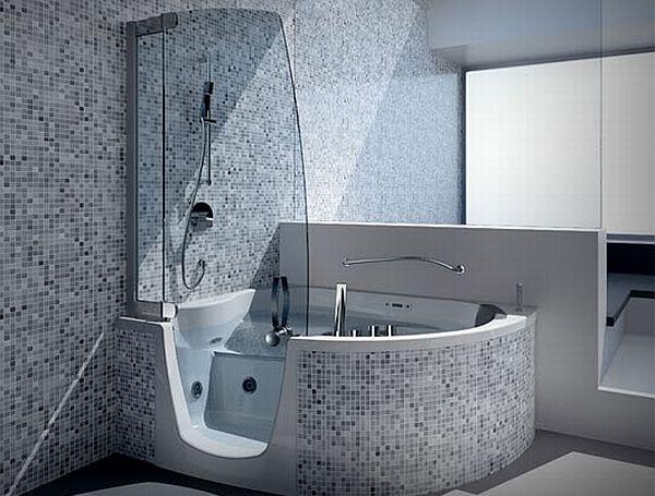 creative corner bathtubs