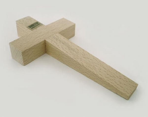 Ordinaire The Cross Doorstop Is A Simple Yet Symbolic Design That Keeps Your Door  Firmly Open Without Letting The Wind Shut It. Made Of Solid Wood, The Cross  Doorstop ...
