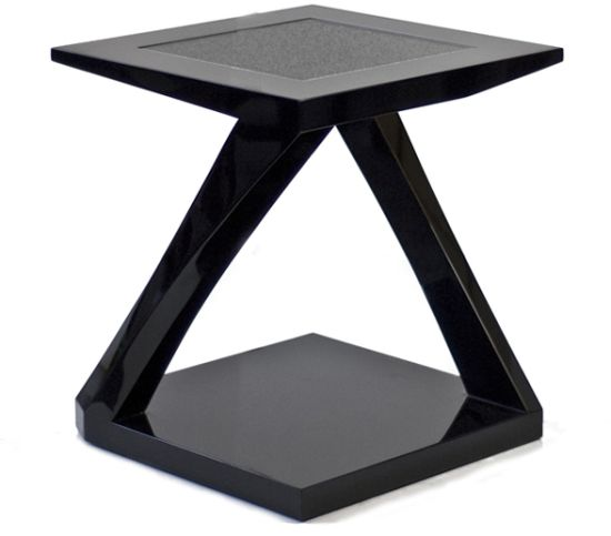 crystal zside table