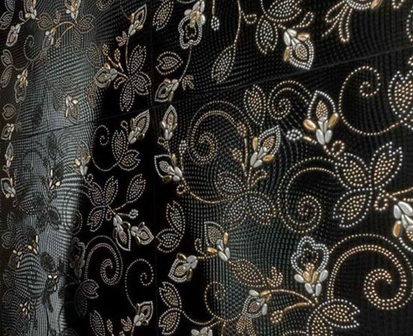Crystal Ker floral tiles